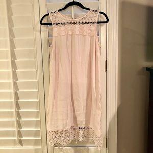 Pale pink dress from LOFT! Size 6